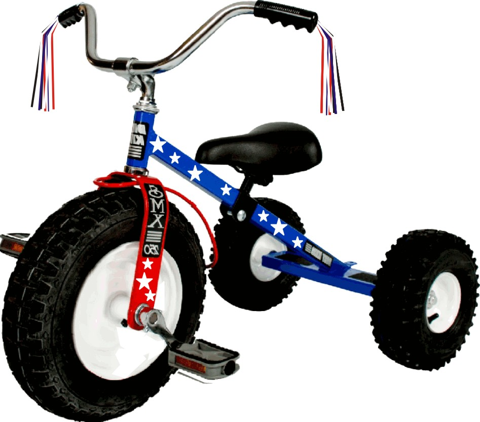 Patriotic Tricycle