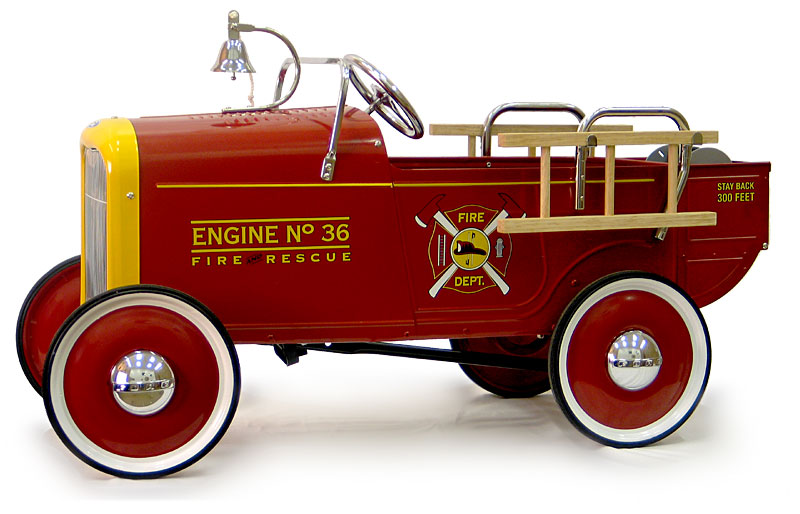 1932 Ford Roadster Fire Engine Pedal Car - OUT OF STOCK  sc 1 st  Pedal Car Ride-On Toys Kits Tricycles Foot-Powered u0026 Battery ... & Pedal Car Ride-On Toys Kits Tricycles Foot-Powered u0026 Battery ... markmcfarlin.com