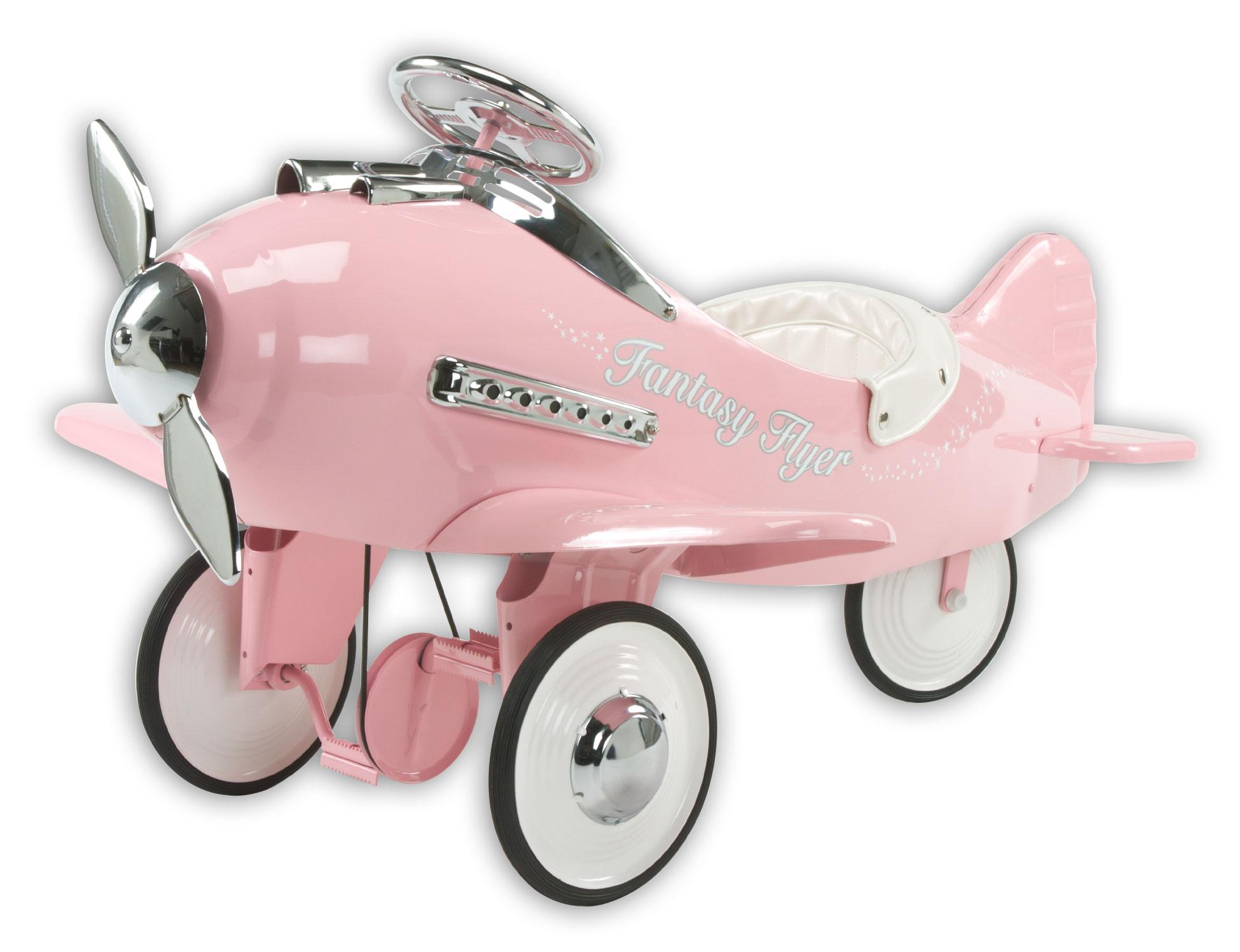 Pink Fantasy Flyer Pedal Plane