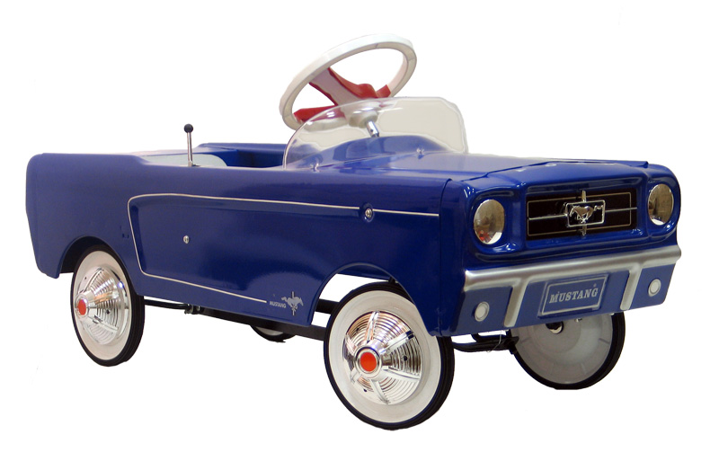Pink  Ford Pedal Car