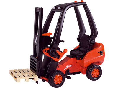 Linde Forklift Pedal Ride-On Toy