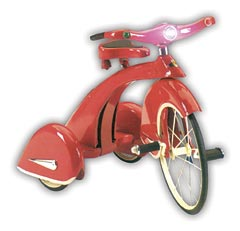 Red Sky King Retro Tricycle Trike by Airflow