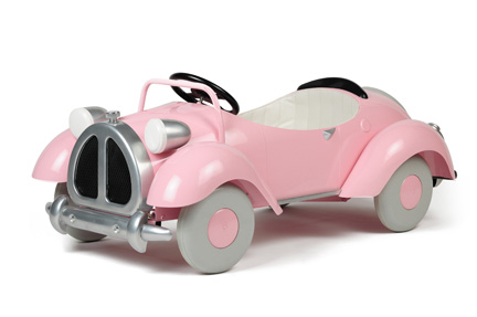 Pink Speedster Pedal Car