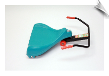 Flying Turtle Scooter - Teal Blue
