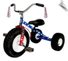 Dirt King Patriot Tricycle