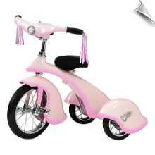Pink Fairy Retro Tricycle