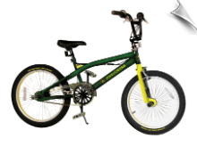 "20"" John Deere Dual Suspension Bike - AVAIL. 01/07/13"