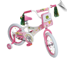 John Deere 16 Inch Girls Bike - PINK - AVAIL. 02/13/13
