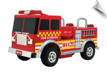 Kalee Authentic Fire Truck 12V Battery Powered
