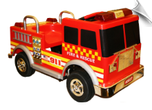 Kalee Authentic Fire Pedal Truck - DISCONTINUED