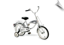 "14"" Morgan Cruiser Bicycle Silver"