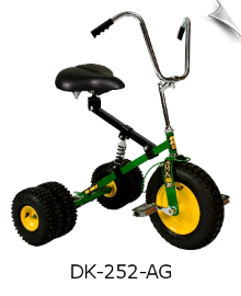 Green Dirt King Adult Dually Tricycle