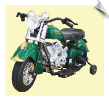 Green Limited Edition Indian Motorcycle