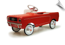 1965 AMF Ford Mustang Pedal Car - Red - OUT OF STOCK