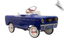 1965 AMF Ford Mustang Pedal Car - Blue - OUT OF STOCK