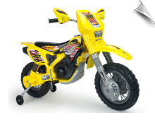 Injusa Drift ZX Dirt Bike 12v