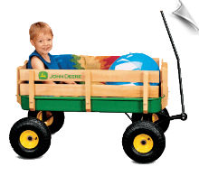 "John Deere 36"" Stake Wagon - OUT OF STOCK"
