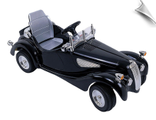 Kalee Classic Car 6v Black (Remote Controlled)