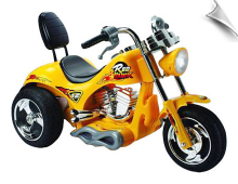 Mini Motos Red Hawk Motorcycle 12v Yellow