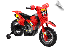 Mini Motos Dirt Bike 6V Red