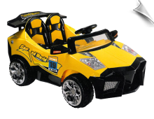 Mini Motos Super Car 12v Yellow