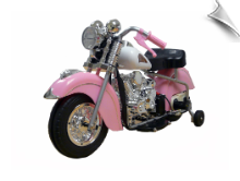 Pink Indian Motorcycle
