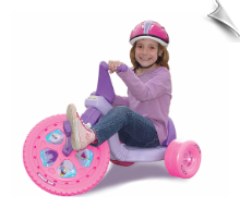 "16"" Pink Princess Big Wheel"