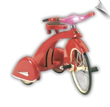 Red Sky King Tricycle by Airflow