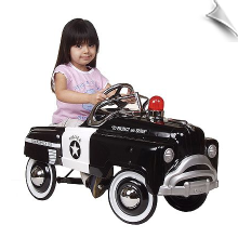 Sad Face Police Pedal Car - OUT OF STOCK!
