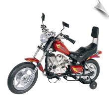 Red Blizzard Battery Operated Ride-On Motorcycle