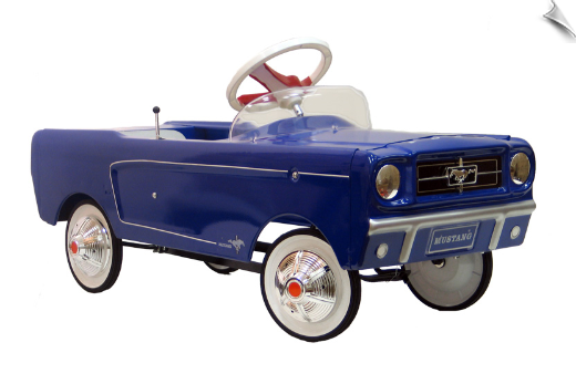 1965 AMF Blue Mustang Pedal Car