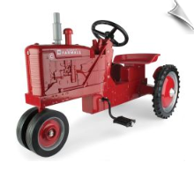Farmall C Narrow Front Pedal Tractor