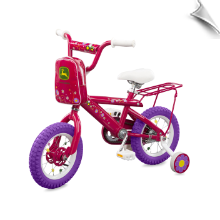 John Deere 12 in. Girl's Pink Bike - ETA 10/21/20