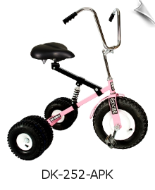 Pink Dirt King Adult Dually Tricycle