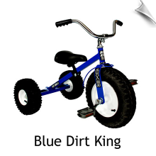 Blue Dirt King Tricycle