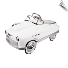 White Comet Pedal Car