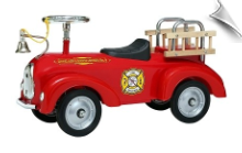 Fire Engine Scoot-ster