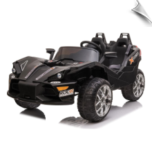MotoTec Slingshot 12v Kids Car Black (2.4ghz RC)