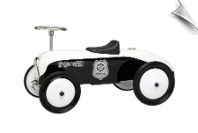 Retro Police Car Foot to Floor Ride on