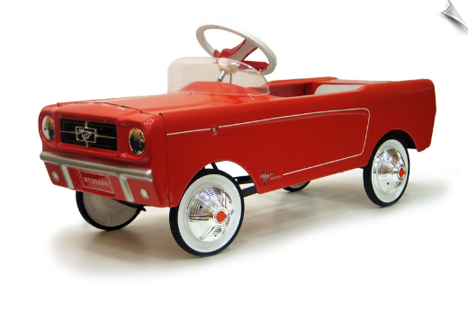 1965 AMF Red Mustang Pedal Car