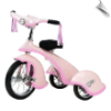 Pink Fairy Retro Tricycle - OUT OF STOCK