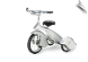 Silver Chrome Retro Tricycle