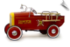 1932 Ford Roadster Fire Engine Pedal Car - OUT OF STOCK