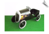 1934 Black Hot Rod Pedal Car with Flames