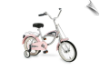 "14"" Morgan Cruiser Bicycle Pink"