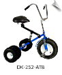 Blue Dirt King Adult Dually Tricycle