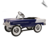 1955 Classic Pedal Car - Purple - NEW!!