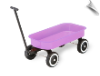 Tot Doll Wagon Lavender