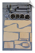 Wooden Pedal Car Kit w/Chassis