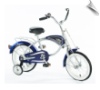 "14"" Morgan Cruiser Bicycle Blue"